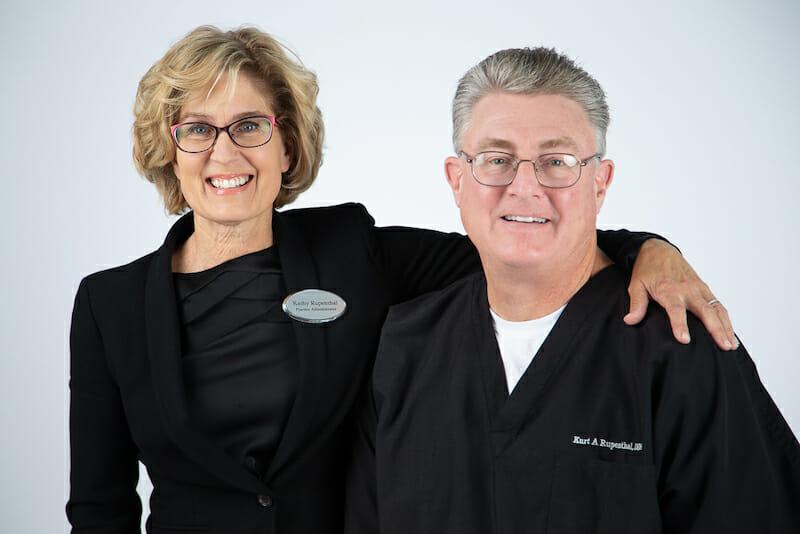Kathy & Dr. Rupenthal
